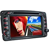 MB-01EU-Autoradio-fr-Mercedes-W203-W168-C209-W209-W463-Moniceiver-Naviceiver-mit-GPS-Navigation-NAVI-Software-inkl-Europa-Karten-38-Lnder-Bluetooth-Freisprechfunktion-7-18cm-Touchscreen-Display-USB-Mi