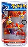 Pokemon TOMY Basic Figure Evolution 3-Pack Fennekin, Braixen & Delphox by Pokemon Center