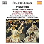 Rodrigo : musique pour orchestre, vol...
