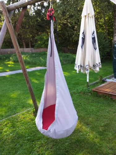 Ikea ekorre swing hanging seat hammock silver color living with