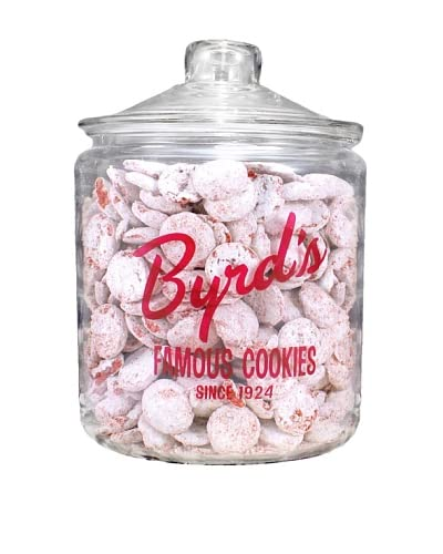 Byrd Cookie Company Logoed Jar with Red Velvet Cookies, 1lb