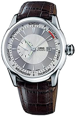 Oris Artelier Small Second Pointer Day Automatic Mens Watch 645-7596-4051ls by Oris