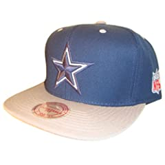 Dallas Cowboys Mitchell & Ness Adjustable Snap Back Snapback Baseball Cap Hat by MLB Snap Back Caps