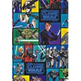 Star Wars Clone Wars - Giftwrap (2 sheets folded) and tags (2)by Star Wars