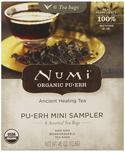 Numi Organic Tea Mini Pu-Erh Sampler, .45 Oz  (12.8G)