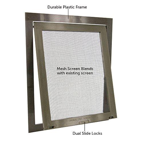 Petsafe pet screen door bronze new ebay for New screen door