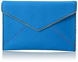 Rebecca Minkoff Leo Clutch, Denim Blue, One Size