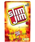 Slim Jim Smoked Snack Sticks, Origina...