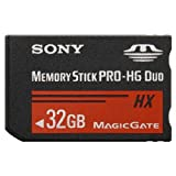 Sony MS-HX32A 32GB Memory Stick Pro - HG Duo HX Series