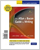The Allyn & Bacon Guide to Writing, Books a la Carte Edition (6th Edition) (020511427X) by Ramage, John D.