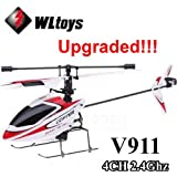 Outdoor WLtoys V911 4CH 2.4GH Single Propeller Mini Radio RC Helicopter Gyro RTF