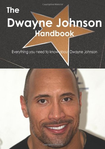 Sale alerts for Tebbo The Dwayne Johnson Handbook - Everything You Need to Know about Dwayne Johnson - Covvet