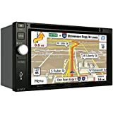 "Jensen VX7020 2 DIN Multimedia Receiver, 6.2"" Touch Screen with Bluetooth & Built-in USB Port (Black/Black)"