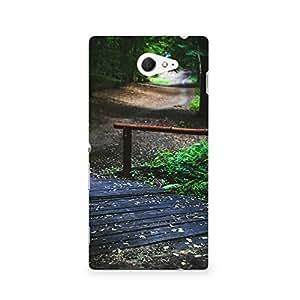 TAZindia Designer Printed Hard Back Case Cover For Sony Xperia M2