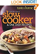 Taste of Home Everyday Slow Cooker & One Dish Meals