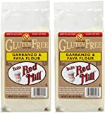 Bob's Red Mill Gluten Free Garbanzo Fava Flour, 22 oz, 2 pk