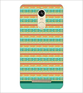 PrintDhaba Tribal Pattern D-1733 Back Case Cover for XIAOMI REDMI NOTE 3 (Multi-Coloured)