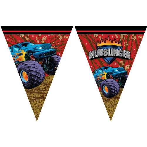 Creative Converting Mudslinger Flag Banner (Monster Inc Streamers compare prices)