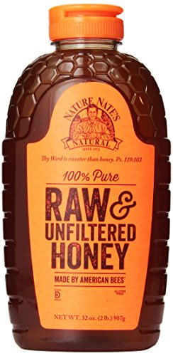 Nature Nate's 100% Pure, Raw Honey