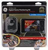 GE Wireless Color Digital Home Monitoring Camera LCD Monitor Security Kit 45255