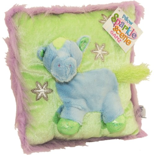 Sparkle Scene Pony Pillow By Ganz Children's Todder's Stuffed Toy Bedding - 1