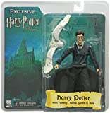 "Harry Potter - 7"" Action Figure - OOP Harry with Hedwig on Perch"