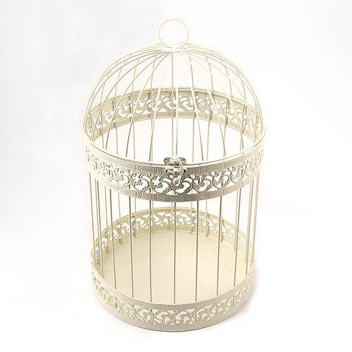 Classic-Round-Decorative-Birdcage-Ivory