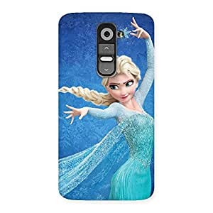 Angel Princess Back Case Cover for LG G2