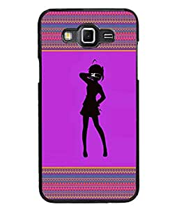 PrintDhaba Girly Design D-2601 Back Case Cover for SAMSUNG GALAXY GRAND MAX (Multi-Coloured)