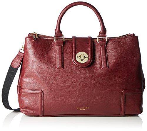 Belmondo 735035 04, Borsa a mano donna Rosso Rot (vino) 43x29x14 cm (B x H x T)