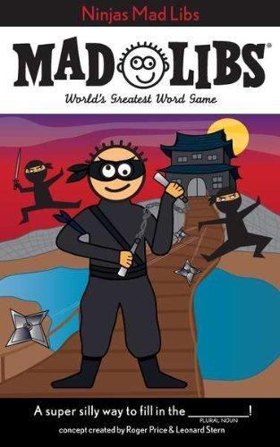 Ninjas Mad Libs (2011-02-17) (Ninja Mad Libs compare prices)