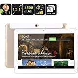 10.1 Inch Tablet PC - Quad Core CPU, Dual SIM 4G, Android 5.1, OTG, 16GB Memory, 4500mAh Battery