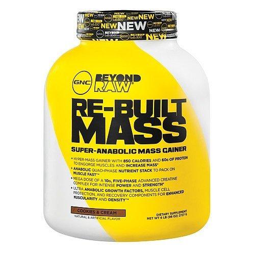 gnc beyond raw re-built mass super-anabolic mass gainer review