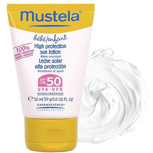Mustela High Protection Sun Lotion SPF 50 - 1.67 oz.