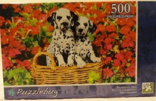 """Puzzlebug """"Dalmatian Duo""""; 500 Piece Puzzle #5500 - 1"""