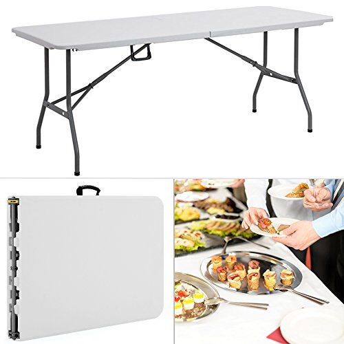 Table jardin pas cher les bons plans de micromonde - Table camping buffet traiteur pliante portable ...