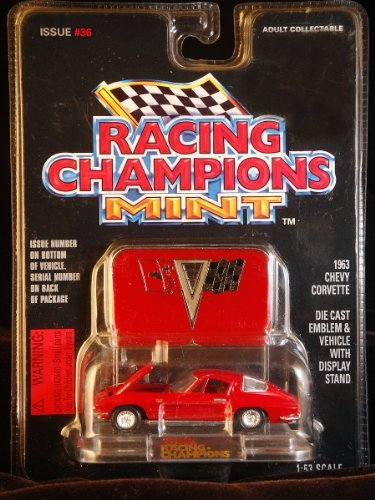 Racing Champions Mint 1963 Chevy Corvette Issue #36