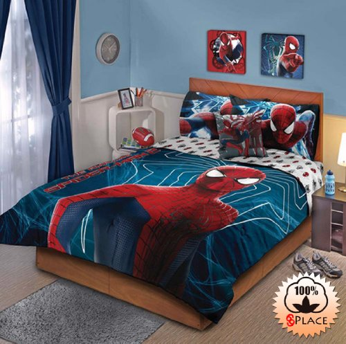 Spiderman Twin Comforter Set