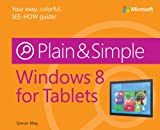 img - for Windows 8 for Tablets Plain & Simple book / textbook / text book