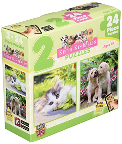 Masterpieces Cuddly Cute Puzzle (2-Pack)