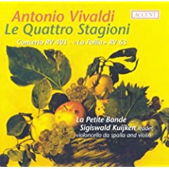 "The 4 Seasons: Violin Concerto in G minor, Op. 8, No. 2, RV 315, ""L'estate"" (Summer): I. Allegro non moto"