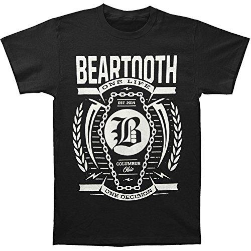Habo-line Beartooth Men's Coffin T-shirt Black?Medium?