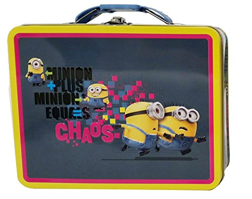 The Tin Box Company Despicable Me Large Tin Carry All (Chaos) - 1