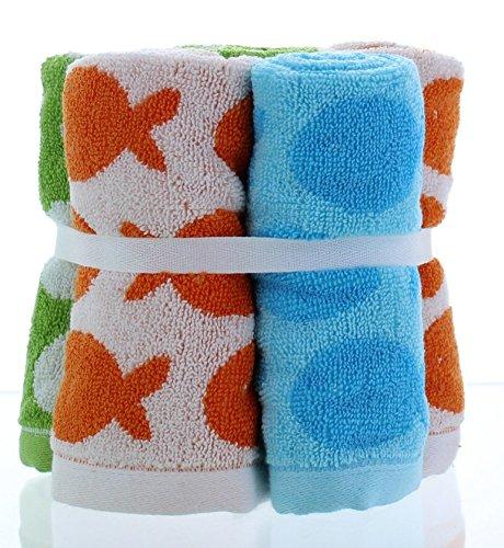 Circo Sea Life 6pk Washcloths