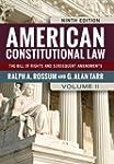 American Constitutional Law, Volume I...