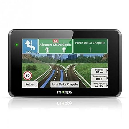Mappy Ultie 521S GPS Auto Europe de l'Ouest (Ecran: 5 pouces - 2 Go) Noir