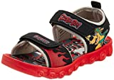 Scooby Doo Boy's Black and Red Sandals and Floaters - 7C UK