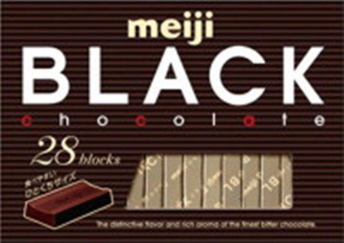 明治 ブラックチョコレートBOX 28枚×6枚
