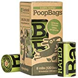 120-Count Earth Rated® Lavender-Scented Dog Waste Bags, 8 Refill Rolls