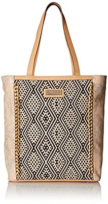 Desigual Malta Kilim Animal Woman Woven Shoulder Bag